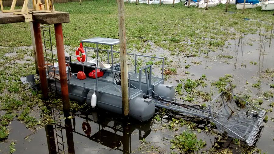 Cortadora y Cosechadora de Malezas y Algas
